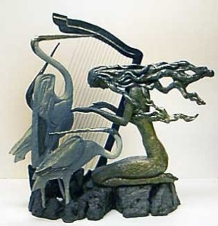 Harmony Bronze Sculpture 23 in Sculpture - Shao Kuang Ting