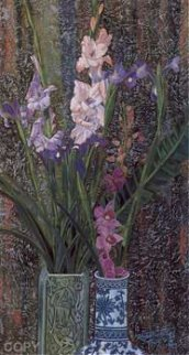 Orchids and Irises Limited Edition Print - Shao Kuang Ting
