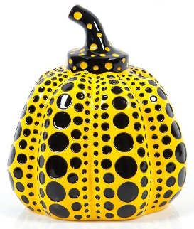 Pumpkin Resin Sculpture 2016 3 in Sculpture - Yayoi Kusama