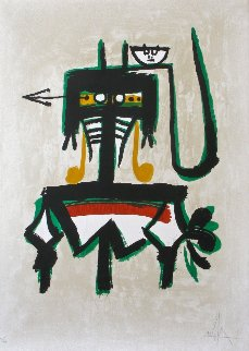 Barcelona (with Green) 1976 Limited Edition Print - Wifredo Lam
