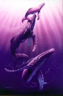 Whale Dance 1997 Limited Edition Print - Christian Riese Lassen