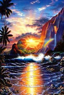 Heaven on Earth 1990 Limited Edition Print - Christian Riese Lassen