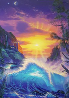 Dawn of Light 1999 Limited Edition Print - Christian Riese Lassen