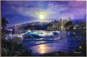 Moonlit Cove 2000 Limited Edition Print - Christian Riese Lassen
