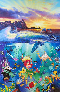 Under the Sea 1994 Limited Edition Print - Christian Riese Lassen