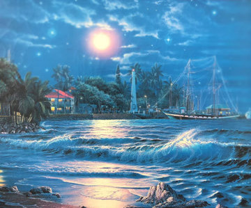 Lahaina Starlight I 1995  Limited Edition Print - Christian Riese Lassen