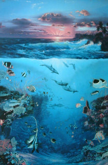 Our World 1988 Limited Edition Print - Christian Riese Lassen