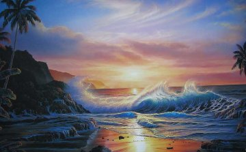 Maui Gold 1992 Limited Edition Print - Christian Riese Lassen
