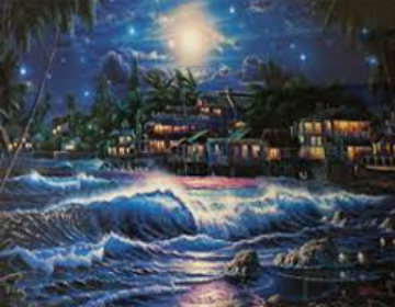 Lahaina Starlight II 2000 Limited Edition Print - Christian Riese Lassen