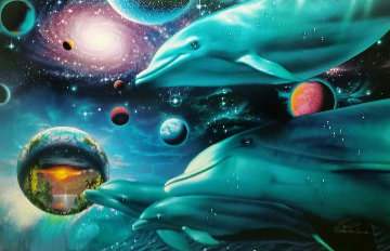 Cosmic Voyagers AP Limited Edition Print - Christian Riese Lassen