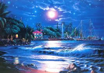 Lahaina Starlight 1993 Limited Edition Print - Christian Riese Lassen