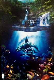 Sacred Pools 1994 Limited Edition Print - Christian Riese Lassen