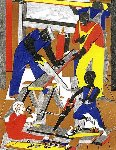 Work Shop 1972 Limited Edition Print - Jacob Lawrence