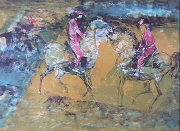 Jockey's 1966 Limited Edition Print -  Lebadang