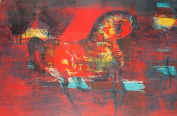 Horse 1960's (Early) Limited Edition Print -  Lebadang