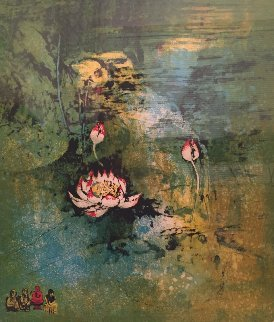 Lotus Limited Edition Print -  Lebadang