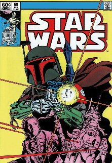 Star Wars - #68 The Search Begins    2015  Limited Edition Print - Stan Lee