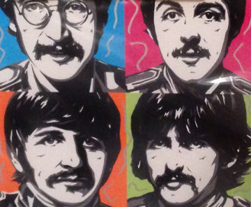 Sergeant Peppers - The Beatles 2007 Limited Edition Print - Allison Lefcort