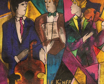Trio Embellished 1998 Limited Edition Print - Linda LeKinff