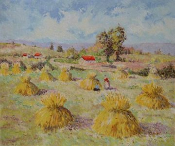 Summer 1963 Limited Edition Print - Lelia Pissarro