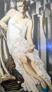 Lady in Lace 1972 Limited Edition Print - Tamara de Lempicka