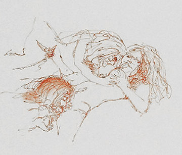Menage a Trois 1970 Limited Edition Print by John Lennon