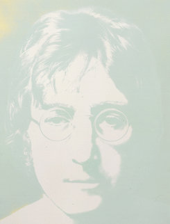 Photographic Portrait Green  1979 Limited Edition Print - John Lennon