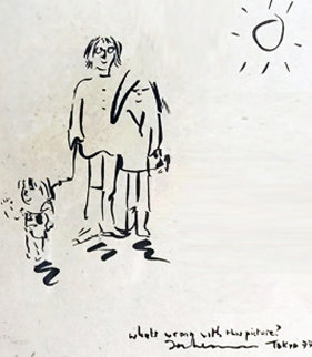 What's Wrong With This Picture? 1997 Limited Edition Print - John Lennon