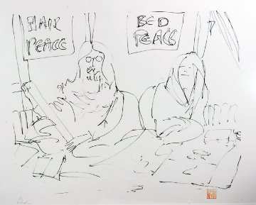 We Made Our Bed 1988 Limited Edition Print - John Lennon