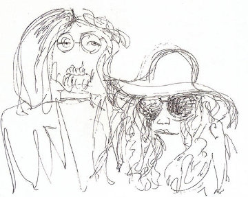 Ballad of John and Yoko Limited Edition Print - John Lennon