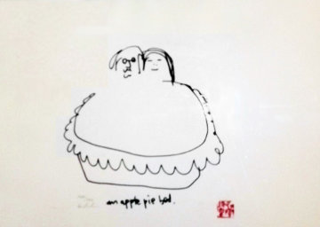American ( Apple Pie) Pie Bed 1988 Limited Edition Print - John Lennon