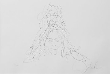 John and Yoko HS Limited Edition Print - John Lennon