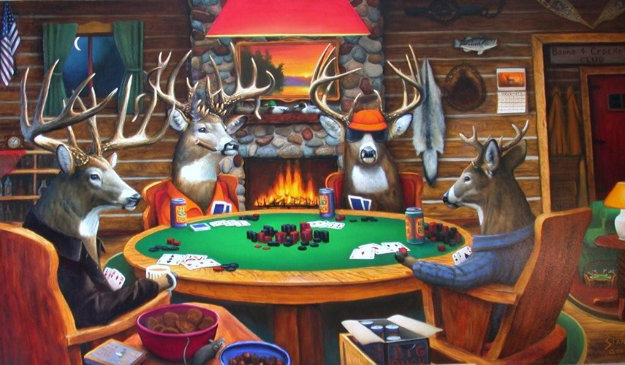 Deer playing poker best chinese poker player