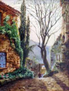 Morning Light Watercolor 19x15 Watercolor - Jack Lestrade