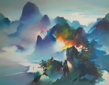 Mountain Rhapsody 1991 Limited Edition Print - Hong Leung