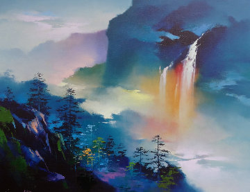 Rainbow Valley Embellished 1993 Limited Edition Print - Hong Leung
