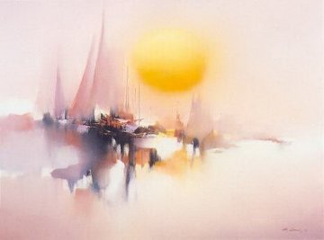 Morning Sun 1981 Limited Edition Print - Hong Leung