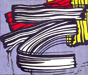 Little Big Painting  1965 Limited Edition Print - Roy Lichtenstein
