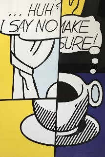 Huh? 1976 Limited Edition Print - Roy Lichtenstein