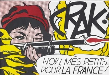 Crak Poster 1960 Other - Roy Lichtenstein