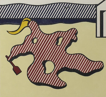 Nude on Beach 1983 Limited Edition Print - Roy Lichtenstein