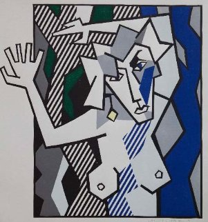 Nude in the Woods 1980 Limited Edition Print - Roy Lichtenstein