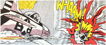 Whaam! (Set of 2) 1984 Tate Gallery Poster Limited Edition Print - Roy Lichtenstein