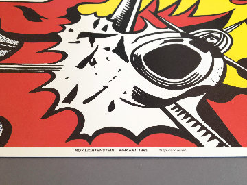 Whaam! 1984 Limited Edition Print - Roy Lichtenstein