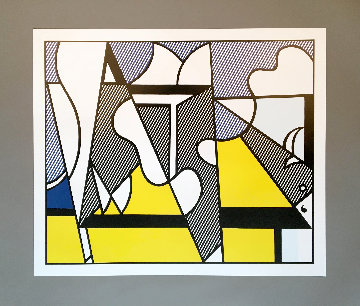 Cow Going Abstract (Set of 3) 1982 Limited Edition Print - Roy Lichtenstein