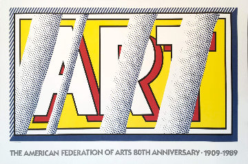Reflections: Art 1989 Limited Edition Print - Roy Lichtenstein