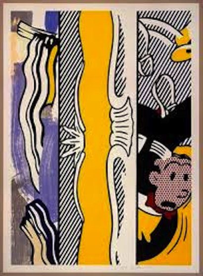 Two Paintings Dagwood 1984 by Roy Lichtenstein
