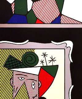 Two Paintings: Paintings Suite 1984 Limited Edition Print - Roy Lichtenstein