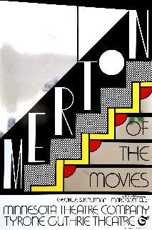 Merton of the Movies Poster AP 1968 HS  Limited Edition Print - Roy Lichtenstein