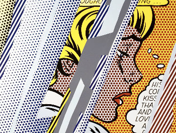 Reflections on Girl 1990 HS Limited Edition Print - Roy Lichtenstein